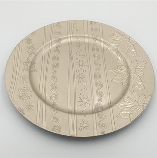 Popular Gold Grace Customized Wholesale Cheap Kitchen Dining Restaurant Dish Plastic Plates