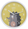 Cheap Good Quality Plastic Wall Clock with Cute Hedgehog Design for Baby Kids