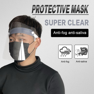 Factory Hot Product PET Film Single Use Safety Protective Full Face Shield for Sale