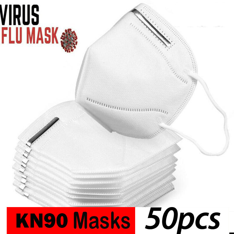 China Supplier KN95 Reusable Face Mask Elastic Earloop without Valve