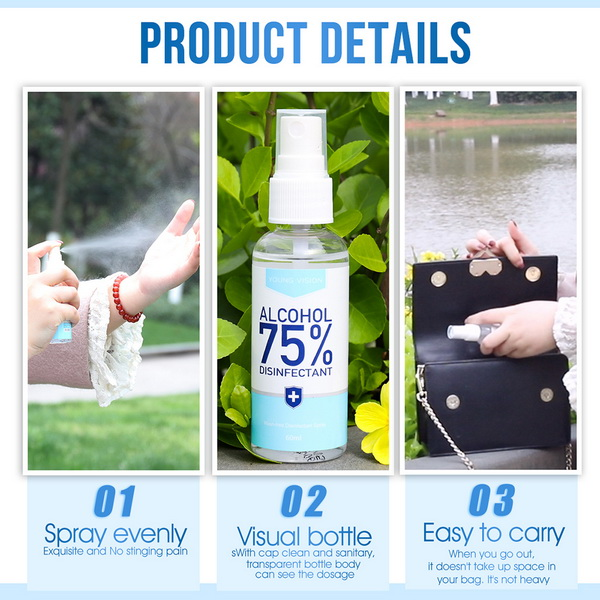 Hot Selling Private Label Portable Travel Size Hand Sanitizer