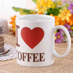Souvenir Custom Logo Color Changing Personalized Coffee 11oz Sublimation Blank Magic Ceramic Mug