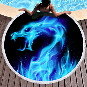 Digital Printing Novelty Beach Towel