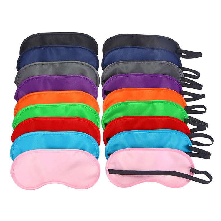 Comfortable Sleep Mask & Ear Plug Set. Includes Carry Pouch for Eye Mask & 3D Eye Mask