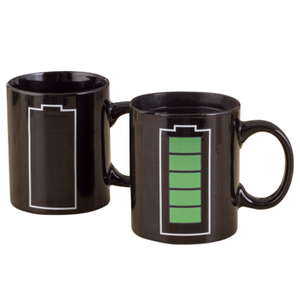 Ceramic Mug With Logo Matt Custom Color Changing Coffee 11oz Sublimation Blank Magic Mug