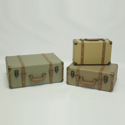 Wholesale Retro Wooden Custom Suitcase