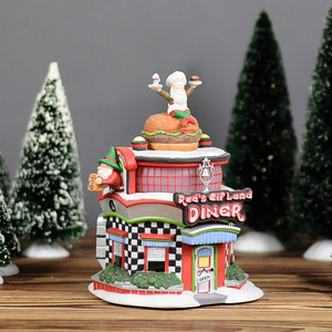 New Ceramic Christmas Village Houses