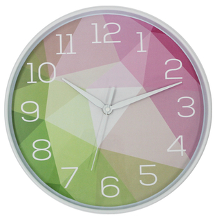 Modern Design Hot Selling European Style Plastic Wall Clock