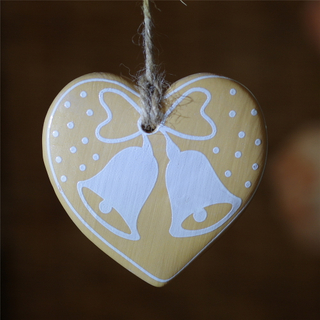 handmade lovely ceramic porcelain pendant