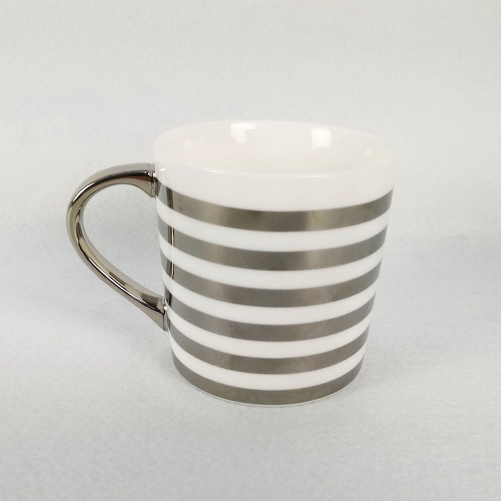 Silver Plated Mug Carbon Steel Camp Enamel Coffee Mug FOB Reference Price:Get Latest Price