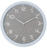 New Pure White 3D Wall Clock With Colors Frame & Special Second Hand