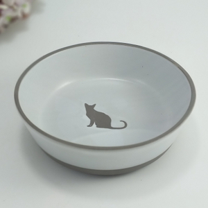 Ceramic Factory Ceramic Pet Bowl Cat Bowl Dog Food Bowl with Various Size