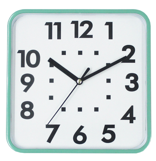 Square Retro Classic Pretty Wall Clock / Selling Well All over The World of High Quality Clock
