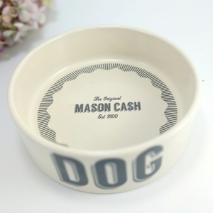 Wholesale Home Garden Food Pet Feeder Pet Ceramic Dog Feed Bowl