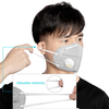 Respirator Mask Dust Mask with Earloop Breathing Valve