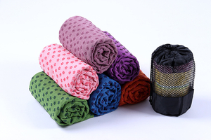 Non Slip Yoga Mat Cover Towel Anti Skid Microfiber Yoga Mat Shop Towels Blankets Fitness