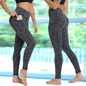 Women High Waist Yoga Leggings Pocket Fitness Sport Pants