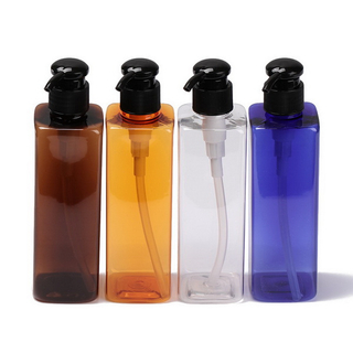 Wholesale Clear Liquid Soap Dispenser Glass Bottle Shampoo Dispenser