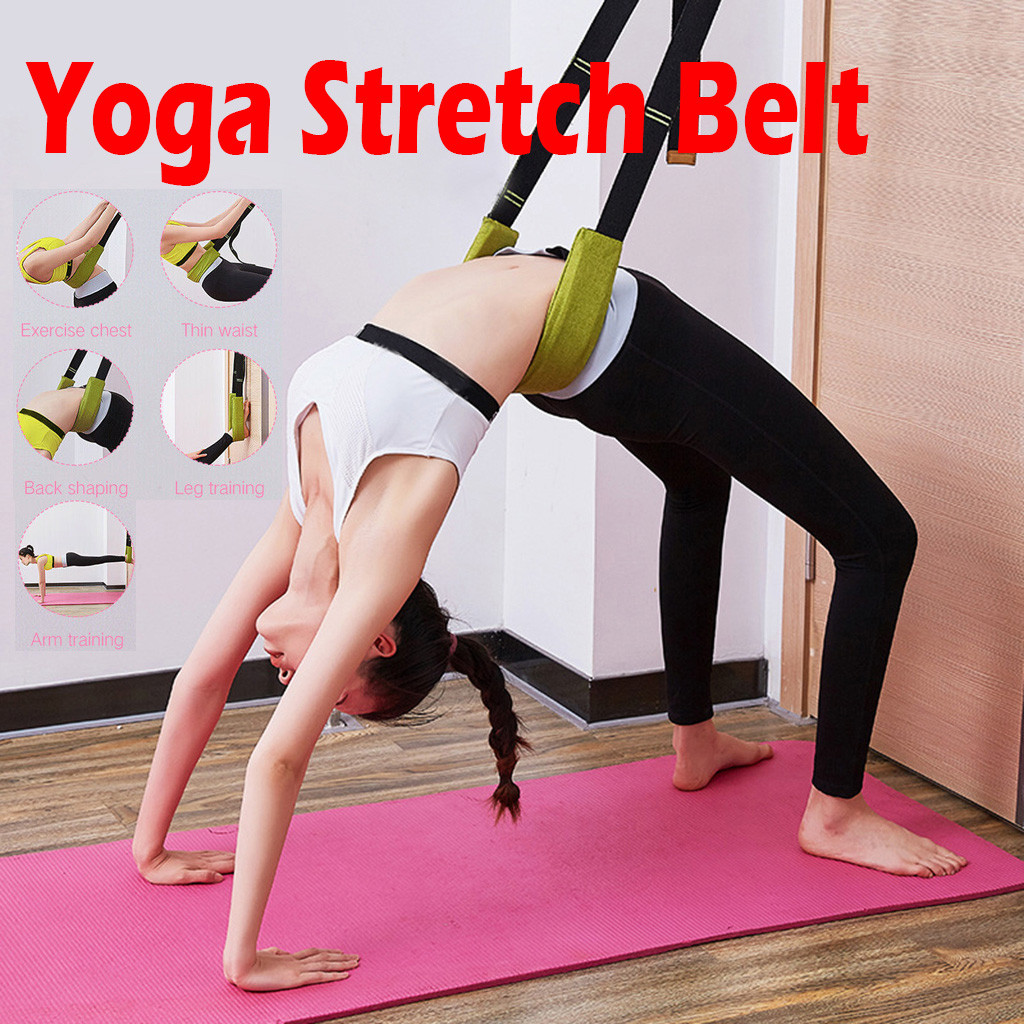Resistance Bands Pull Rope Sport Set Expander Yoga Flexibility Yoga Stretch Belt Elastic Stretching Strap Exercise Fitness Bands