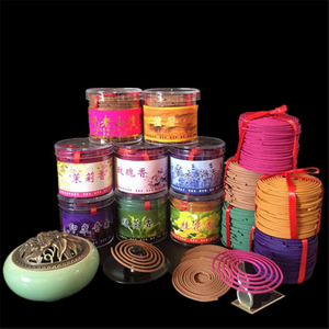 48Pcs/Box Bathroom Interior Bedroom Toilet Odor Of Natural Perfume Aromatherapy Sandalwood Coil Incense Tibetan Incense India