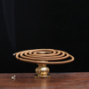 New Alloy Copper Incense Holder Can Be Fixed Incense Sticks And Coil Portable Incense Burner Censer High Incense Plug