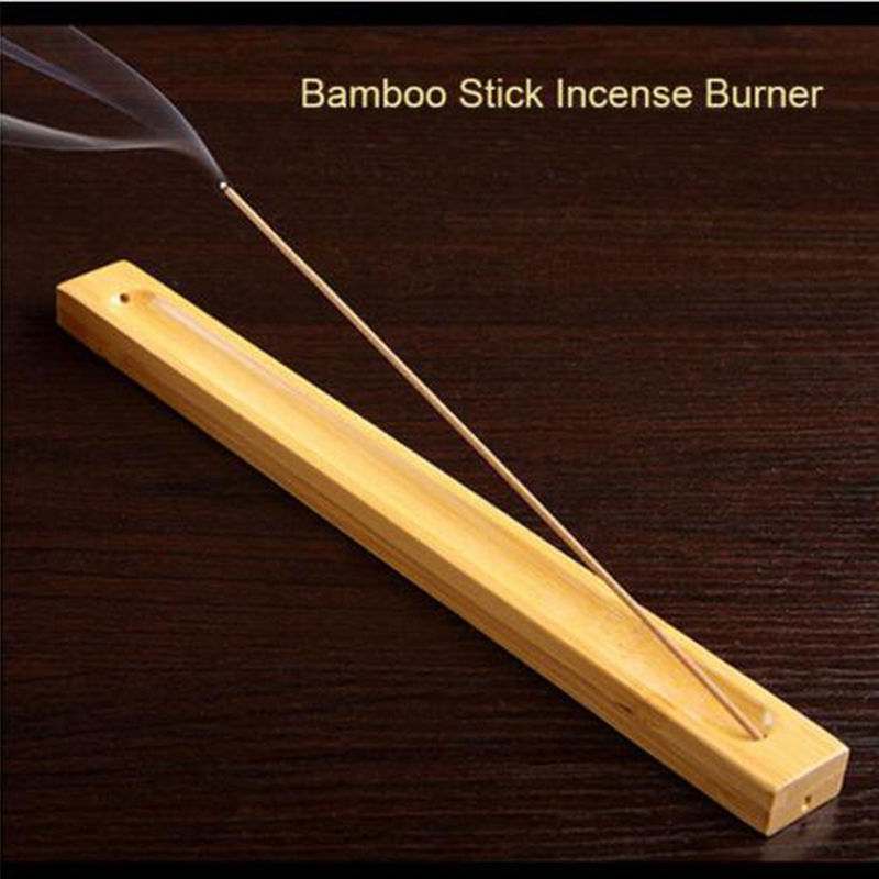 Useful Bamboo Material Stick Plate Incense Holder Fragrant Ware Stick Incense Burner Bamboo Line Incense Burner