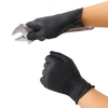 Good quality nitrile gloves black disposable competitive price supplies