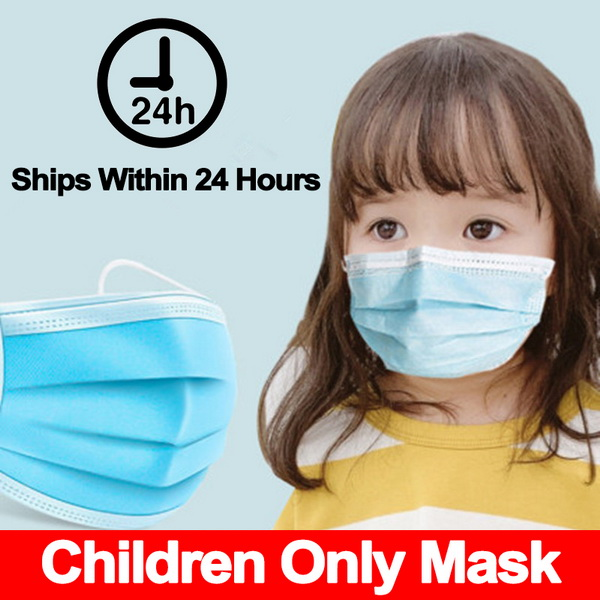 Children Mouth Mask Respiratory Valve Cartoon Panda Thicken Smog Mask Warm Dust Mask