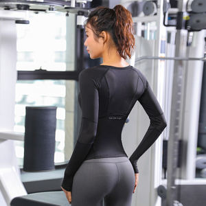 Sports Tops Gym Women Fitness T Shirt Woman Long Sleeve Yoga Top Mesh Womens Gym Tops Sport Wear Women