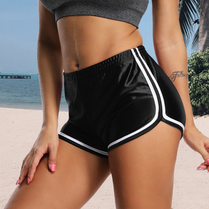 Women Sport Fitness Yoga Shorts Athletic Shorts Cool Ladies Sport Running Short Fitness Clothes Jogging Trousers Drop Shipping