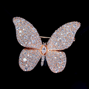 High Quality Insect Pins And Brooches Jewelry Fashion Brooch Butterfly New Year Gifts For Women Drop Shipping Red Trees Brand High Quality Insect Pins And Brooches Jewelry Fashion Bro