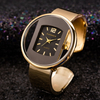 Luxury Brand Gold Silver Women Watches Steel Ladies Watch Creative Girl Quartz Wristwatch Clock
