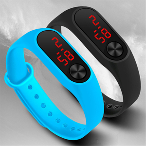 New Fashion Digital Sport Watch Casual Silicone Watches Bracelet Clock Men Women Wristwatch