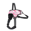 Manufacturer Pet Products Comfortable Retractable Pet Pink Dog Collar For Female Dog Or Cats