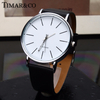 Quartz Watch Men Leather Casual Watches Men's Clock Male Sports Wristwatch