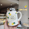 Hot Selling Creative Cute Ceramic Mug Cup/ Ceramic Mug With Handle