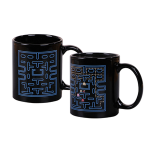 New Style 11oz Black Ceramic Magic Coffee Mugs/ Personalized Cups