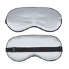 Cute Mulberry Silk Blindfold Travel Sleep Eye Mask with Eyelashes for Sleeping