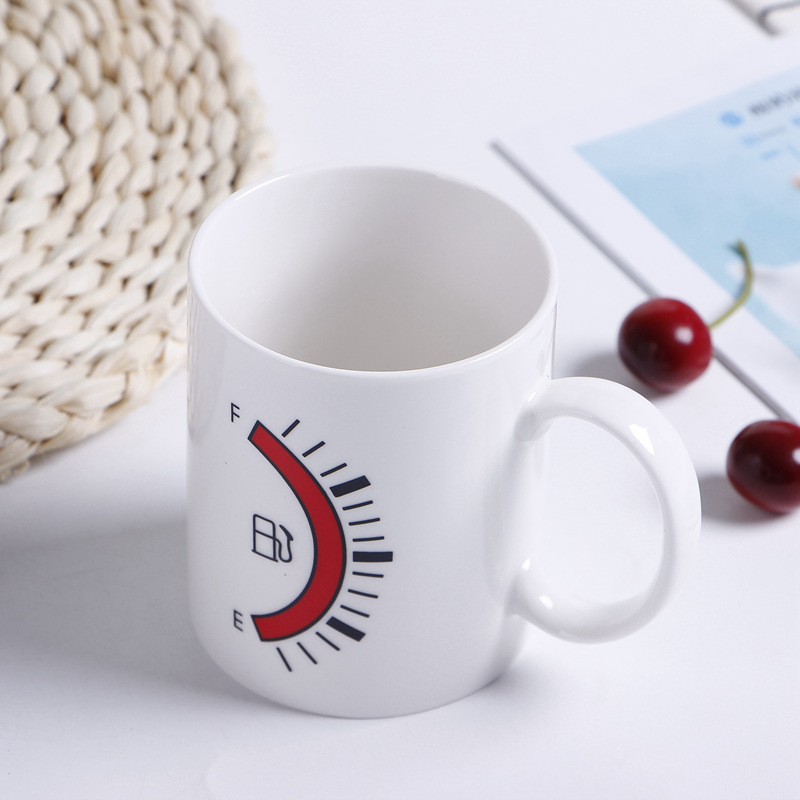 11oz Hot And Cold Water Color Change Logo Coffee Mug for Small Gift
