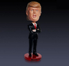 Donald Trump Funny Action Figure Doll Bobble Head Resin Arts Handmade Figure