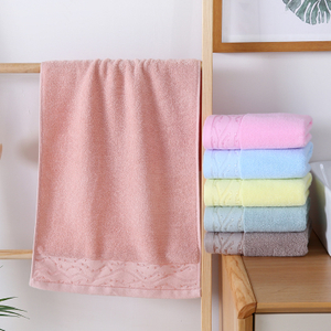 Cotton Grey Hotel & Spa Home Bath Jacquard Towels Face Towel Cotton 2 Piece Towel Set