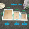Promo Decorative Wood Photo Frame PS A4 Picture Frame