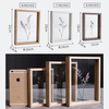 Customized Size Laser Engraving 4*6inch Wooden Photo Picture Frame