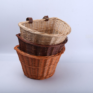 Custom Made Willow Woven Wicker Storage Basket Made in China