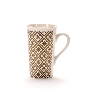 Ceramic Mug Nordic Simple Coffee Cup Gold Series White Promotional Metal Water Cup