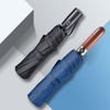 Classic Reinforce Stormproof Bulletproof Inverted Folding Umbrella