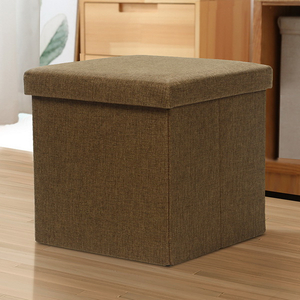 Colorful Pu Leather Folding Storage Ottoman/Moroccan Leather Pouf Ottoman