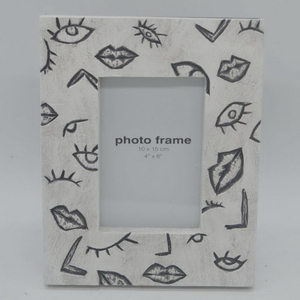 3D Style Resin Baby Photo Picture Frame