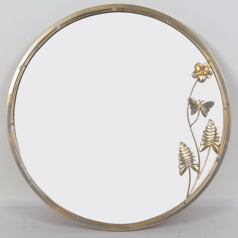 Bedroom Bathroom Gold Metal Framed Decorative Mirrors Decor Wall
