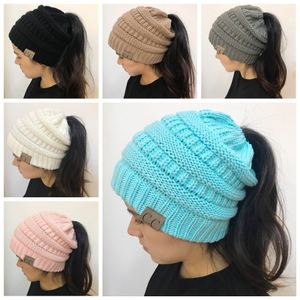 New Arrived High Quality Plain Color Unisex Wool Winter Warm Custom Knitted Beanie Hats
